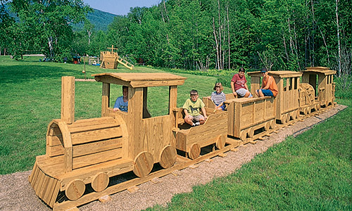 Kids Train Playground