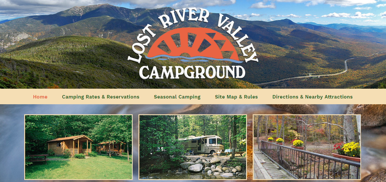 Lost River Valley Campground Family Camping In The White Mountains Of New Hampshire